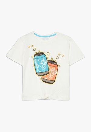 TEEN GIRLS  - Print T-shirt - marshmallow