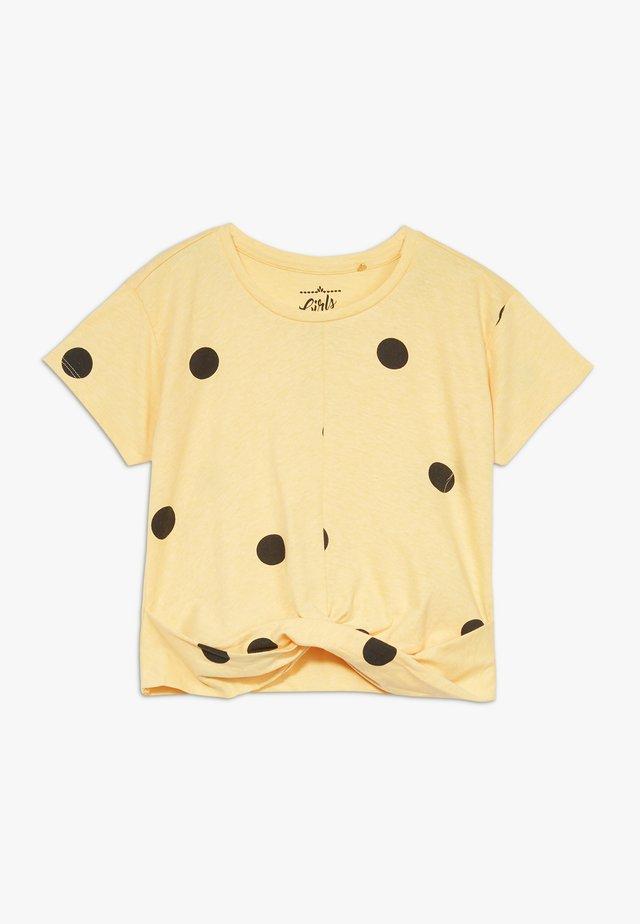 TEEN GIRLS  - Print T-shirt - yellow melange