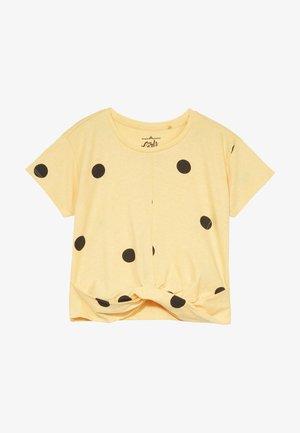 TEEN GIRLS  - T-shirt con stampa - yellow melange
