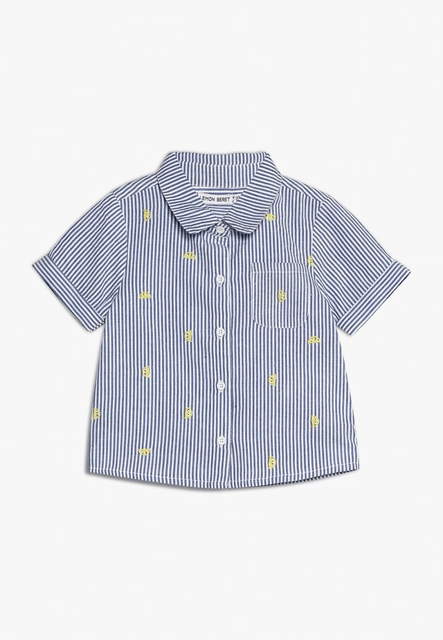 SMALL GIRLSBLOUSE - Button-down blouse - blue