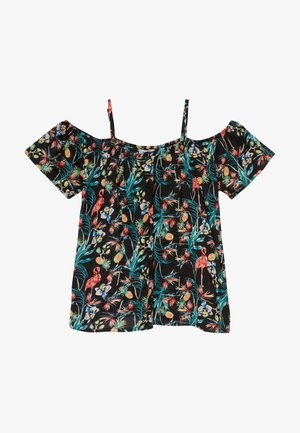TEEN GIRLS BLOUSE - Camicetta - black