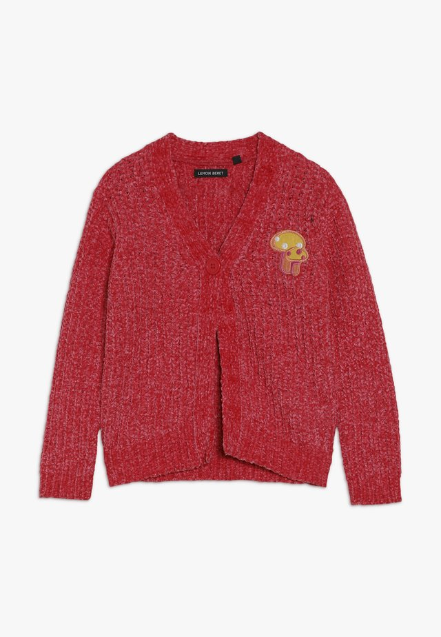 SMALL GIRLS CARDIGAN PULL - Cardigan - tomato pure