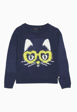 SMALL GIRLS  - Jersey de punto - medieval blue