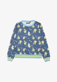 Lemon Beret - SMALL GIRLS - Sweater - medieval blue - 2