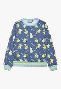 Lemon Beret - SMALL GIRLS - Sweater - medieval blue - 0