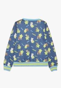 Lemon Beret - SMALL GIRLS - Sweater - medieval blue - 1