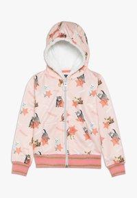 Lemon Beret - SMALL GIRLS CARDIGAN - veste en sweat zippée - english rose - 0