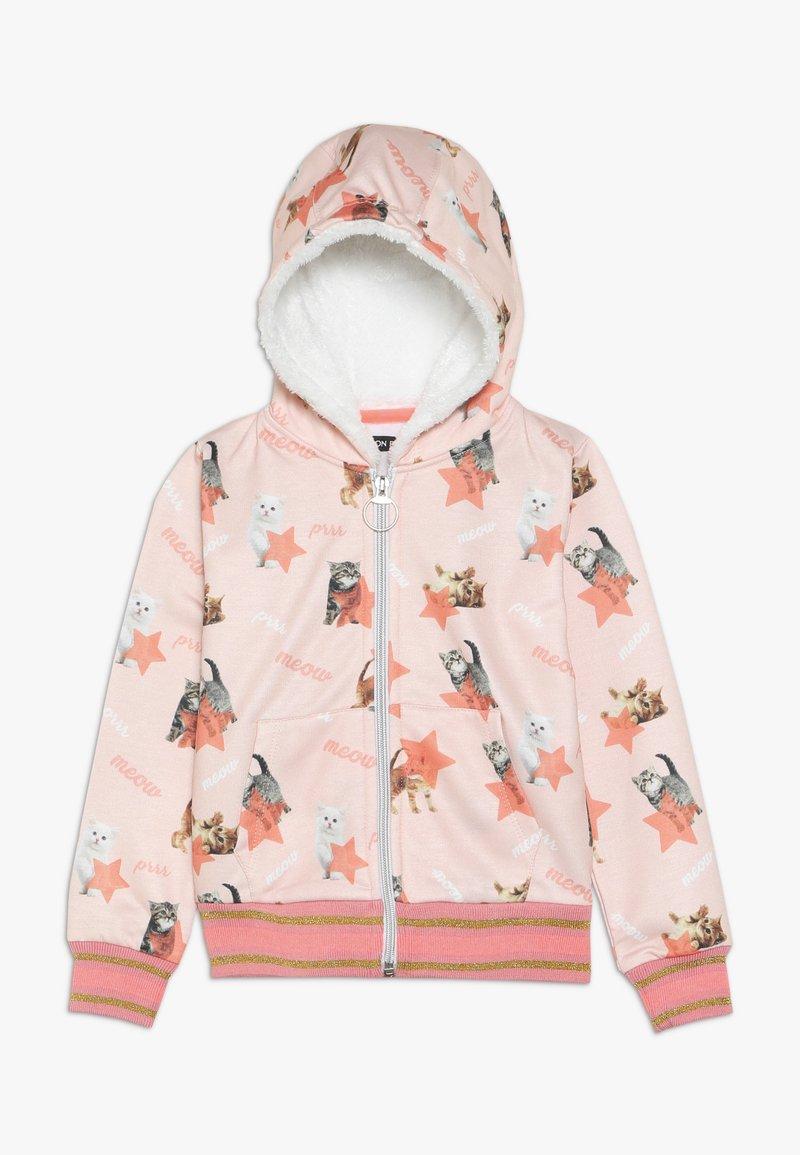 Lemon Beret - SMALL GIRLS CARDIGAN - veste en sweat zippée - english rose