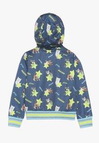 Lemon Beret - SMALL GIRLS CARDIGAN - veste en sweat zippée - medieval blue - 1