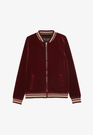 TEEN GIRLS CARDIGAN  - Zip-up hoodie - biking red