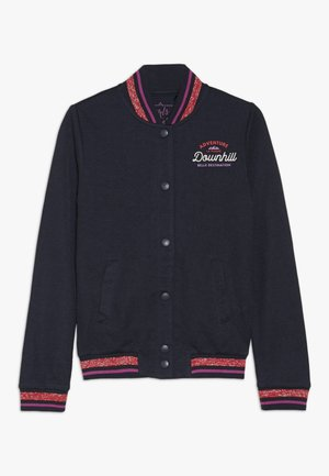 TEEN GIRLS CARDIGAN  - Zip-up hoodie - navy blazer