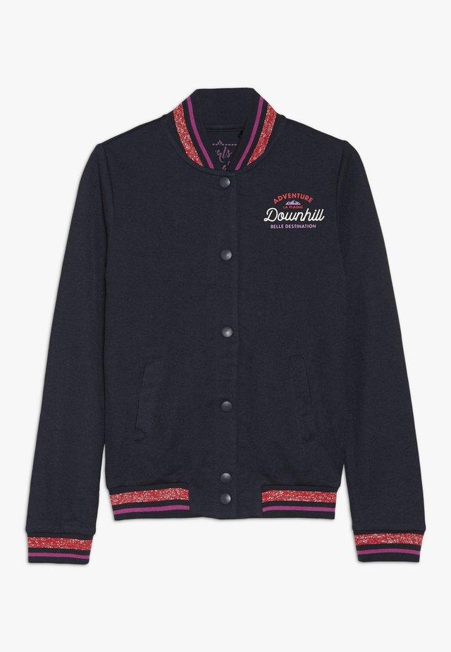 TEEN GIRLS CARDIGAN  - Zip-up hoodie - navy blazer