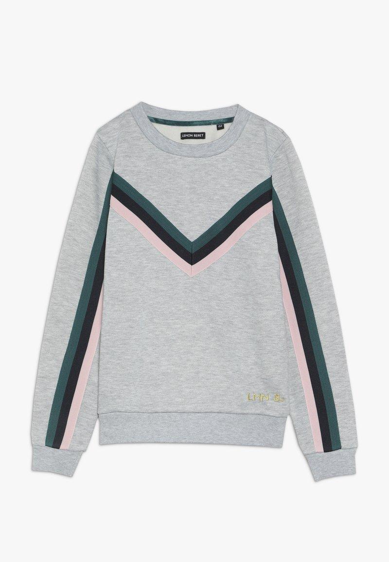 Lemon Beret - TEEN GIRLS  - Sweatshirt - grey melange