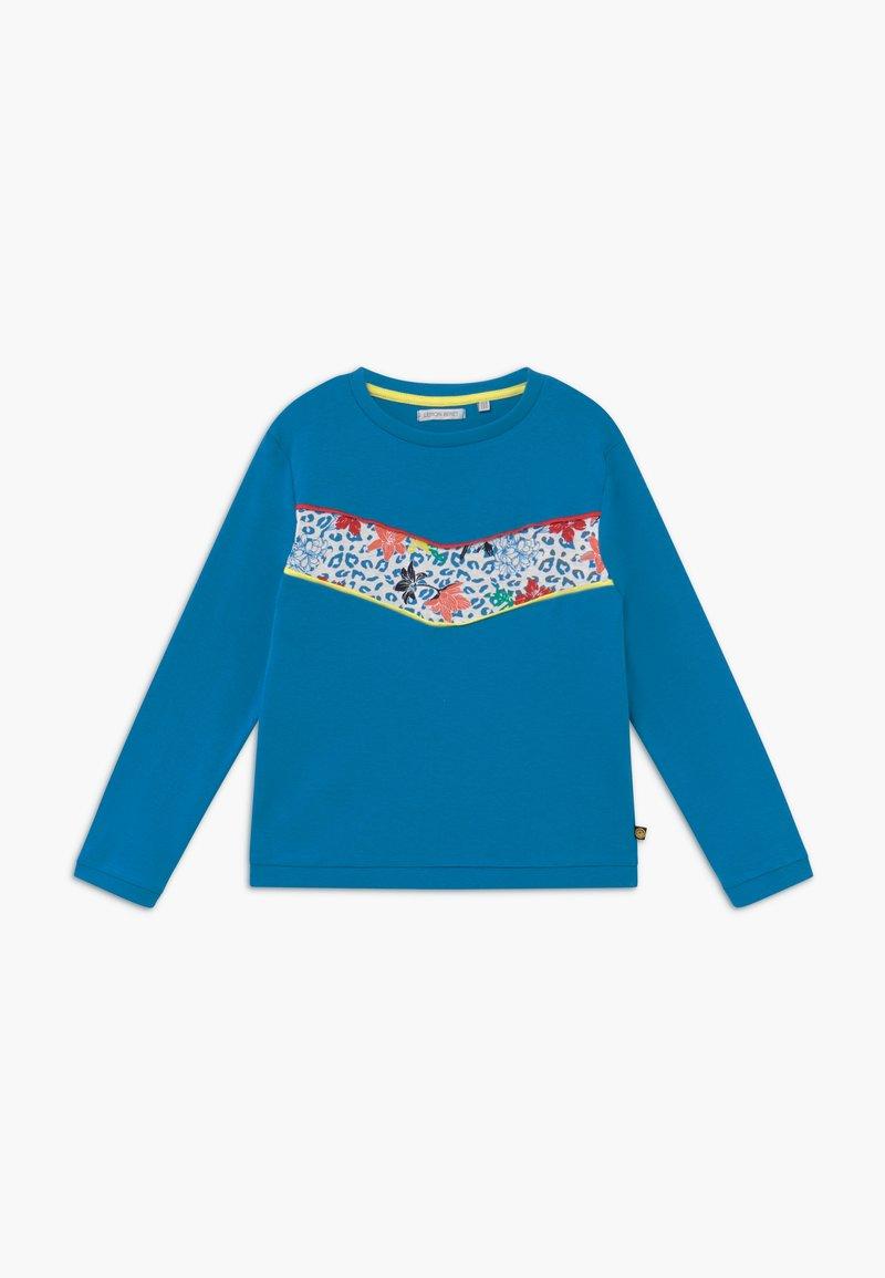 Lemon Beret - SMALL GIRLS  - T-shirt à manches longues - mediterranian blue