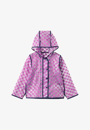 SMALL GIRLS JACKET - Waterproof jacket - super pink
