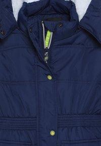 Lemon Beret - SMALL GIRLS - Winter coat - medieval blue - 5
