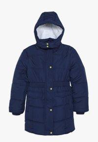 Lemon Beret - SMALL GIRLS - Winter coat - medieval blue - 0