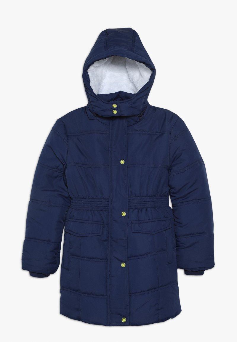 Lemon Beret - SMALL GIRLS - Winter coat - medieval blue