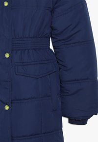 Lemon Beret - SMALL GIRLS - Winter coat - medieval blue - 3