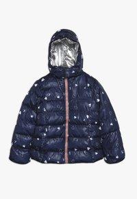 Lemon Beret - SMALL GIRLS JACKET - Winter jacket - navy blazer - 0