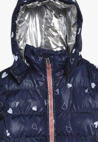 Lemon Beret - SMALL GIRLS JACKET - Winter jacket - navy blazer - 4