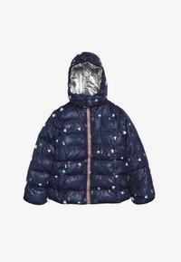 Lemon Beret - SMALL GIRLS JACKET - Winter jacket - navy blazer - 3