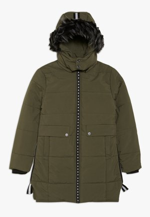 TEEN GIRLS JACKET - Winter coat - kaki