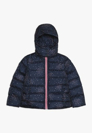 SMALL GIRLS JACKET - Zimní bunda - dark blue/light pink