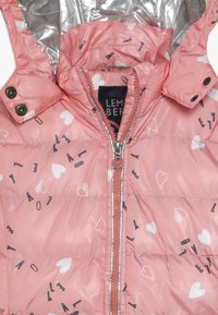 Lemon Beret - SMALL GIRLS JACKET - Winter jacket - flamingo pink - 5