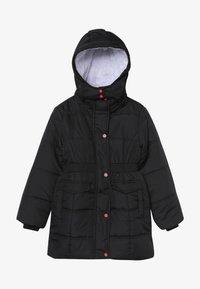 Lemon Beret - SMALL GIRLS JACKET - Zimní kabát - black - 3