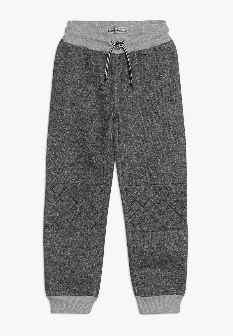 Lemon Beret - SMALL BOYS PANT - Trainingsbroek - dark grey melange as swatch