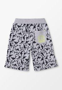 Lemon Beret - SMALL BOYS BERMUDA - Spodnie treningowe - gray melange - 1