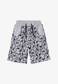 Lemon Beret - SMALL BOYS BERMUDA - Spodnie treningowe - gray melange - 4