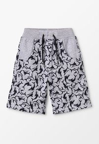 Lemon Beret - SMALL BOYS BERMUDA - Spodnie treningowe - gray melange - 0