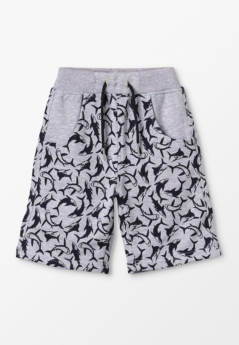 Lemon Beret - SMALL BOYS BERMUDA - Spodnie treningowe - gray melange