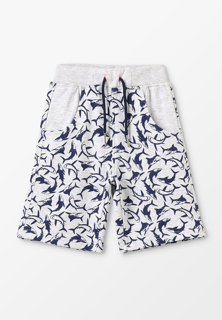 Lemon Beret - SMALL BOYS BERMUDA - Tracksuit bottoms - light grey melange
