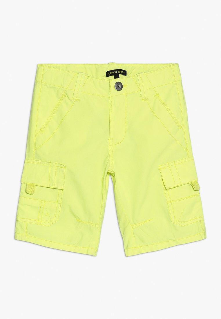 Lemon Beret - SMALL BOYS BERMUDA - Kapsáče - flash yellow