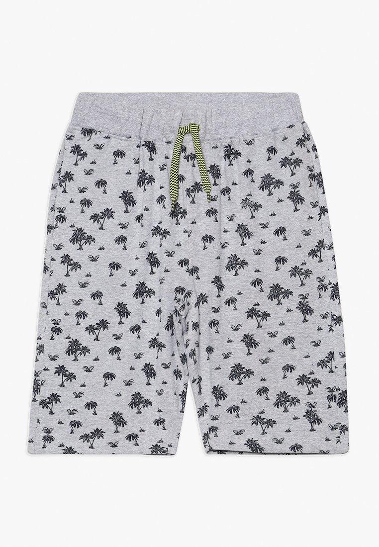 Lemon Beret - TEEN BOYS BERMUDA - Spodnie treningowe - grey melange as swatch