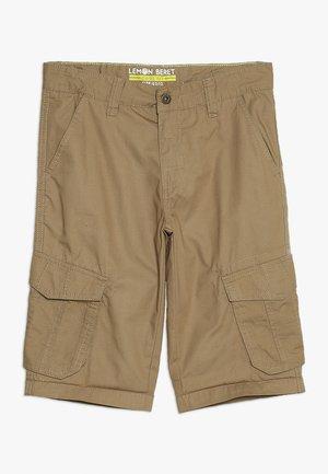 TEEN BOYS BERMUDA - Pantaloni cargo - camel