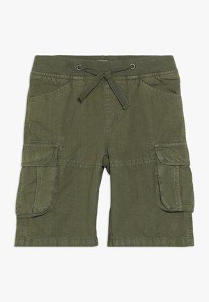 TEEN BOYS BERMUDA - Shorts - burnt olive
