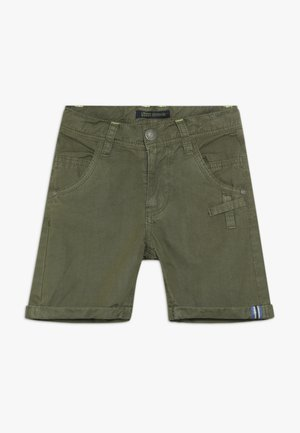 SMALL BOYS BERMUDA - Shorts - burnt olive