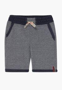 Lemon Beret - TEEN BOYS BERMUDA - Denim shorts - dark blue - 0