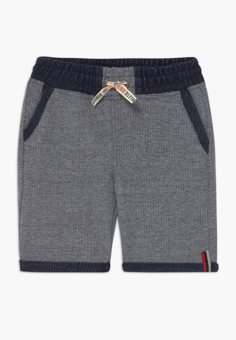 Lemon Beret - TEEN BOYS BERMUDA - Denim shorts - dark blue