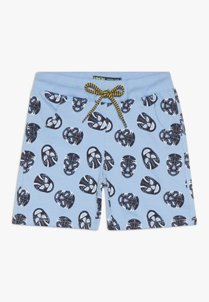 SMALL BOYS BERMUDA - Tracksuit bottoms - blue bell