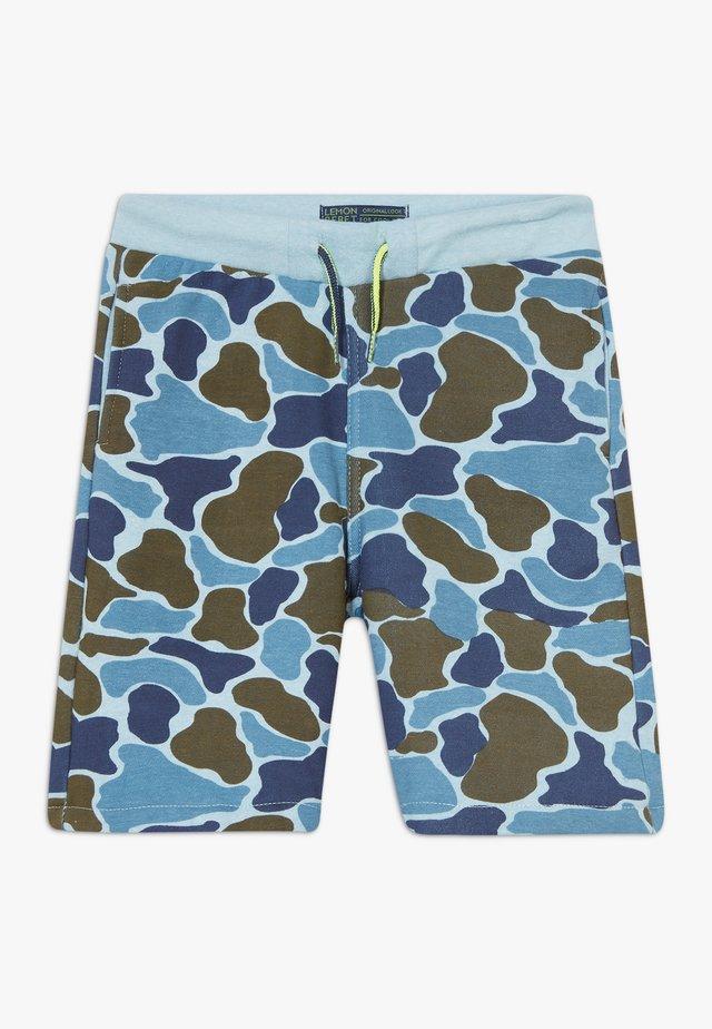 SMALL BOYS BERMUDA - Træningsbukser - light blue
