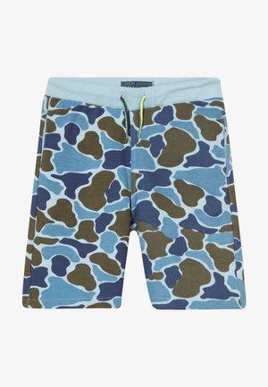 SMALL BOYS BERMUDA - Teplákové kalhoty - light blue