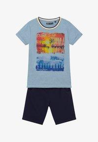 Lemon Beret - TEEN BOYS SET - Teplákové kalhoty - light blue - 3