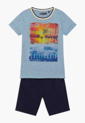 TEEN BOYS SET - Pantaloni sportivi - light blue