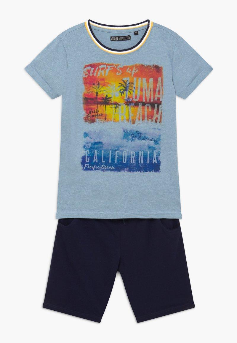 Lemon Beret - TEEN BOYS SET - Teplákové kalhoty - light blue