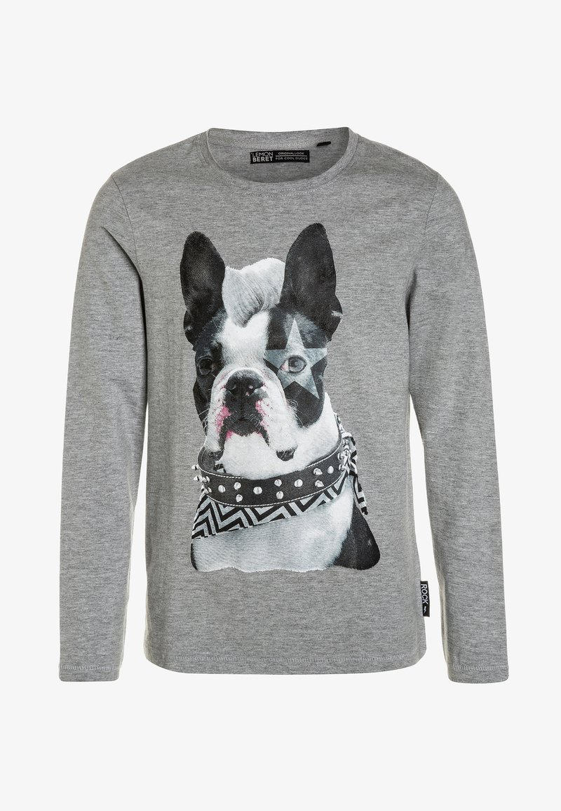 Lemon Beret - TEEN BOYS  - Langærmede T-shirts - grey melange